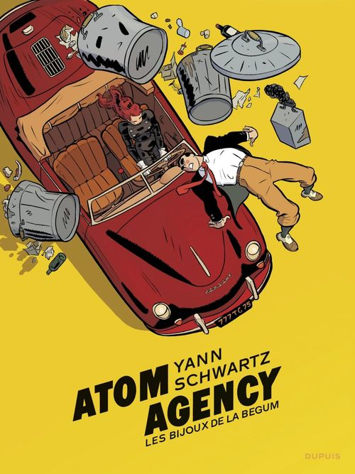 Atom Agency T.1 ; les bijoux de la Bégum
