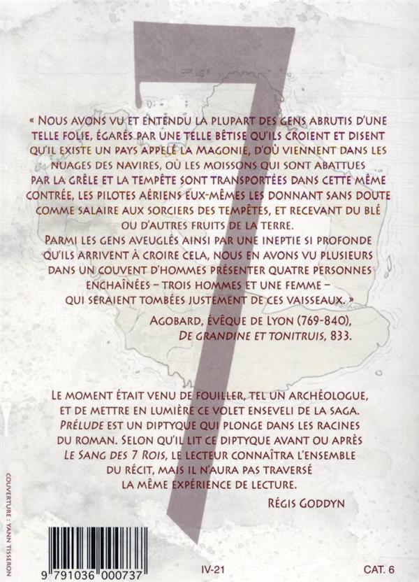 Le sang des 7 rois ; prélude t.1