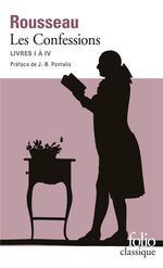 Couverture de Les confessions ; livres i à iv