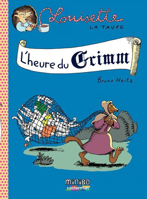 Vente Livre Numérique : Louisette la taupe (Tome 8) - L'heure du Grimm  - Bruno Heitz