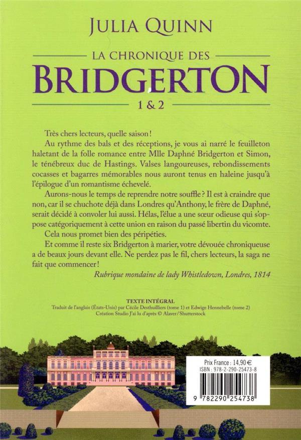 La chronique des Bridgerton t.1, t.2