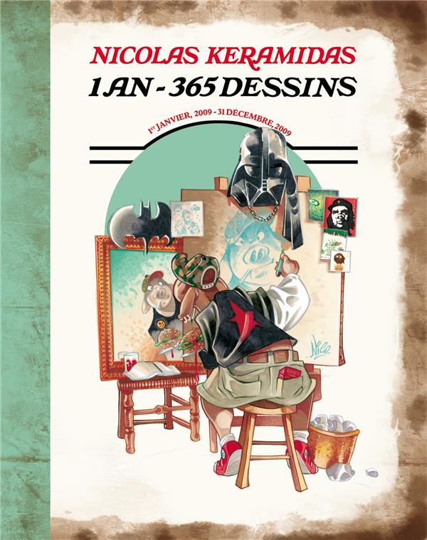 Nicolas Keramidas ; 1 an, 365 dessins