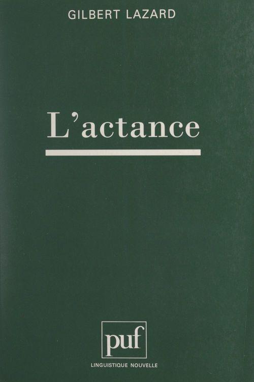 L'actance