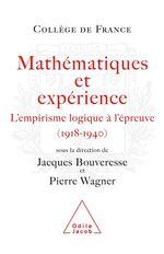 Vente EBooks : Mathématiques et expérience  - Pierre Wagner - Jacques BOUVERESSE
