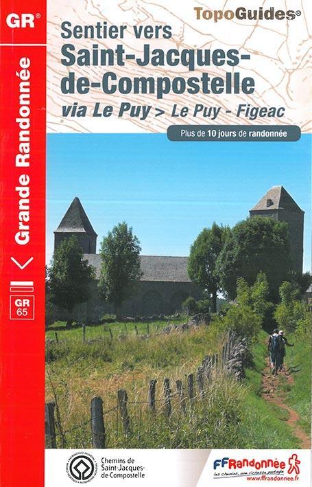 SENTIER VERS SAINT-JACQUES-DE-COMPOSTELLE VIA LE PUY - 651 - LE PUY - FIGEAC