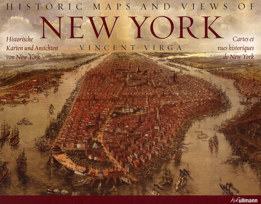 Historic maps and views of New York