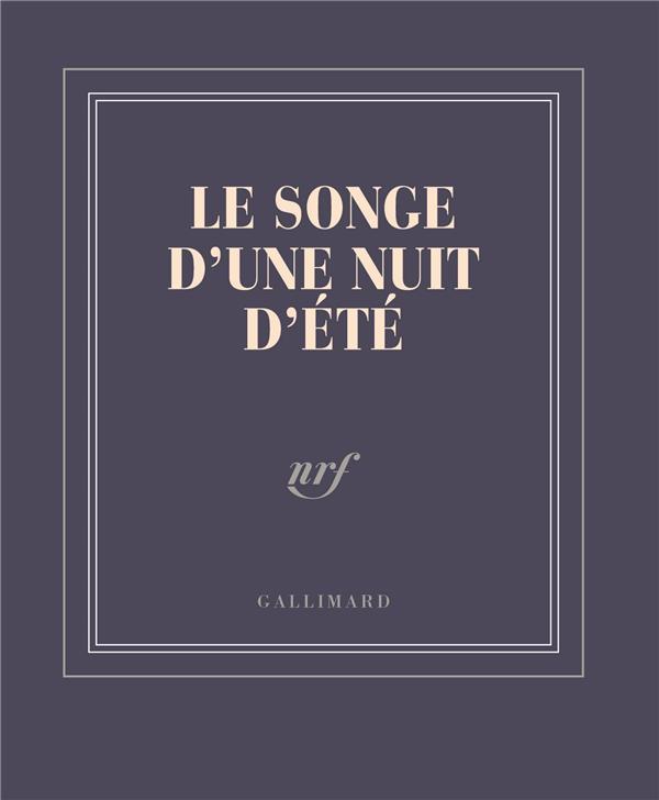 CARNET POCHE LE SONGE D-UNE NUIT D-ETE (PAPETERIE)