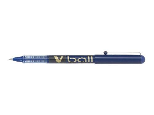 Roller encre liquide - PILOT® - V-Ball 07 - Bleu - Pointe moyenne