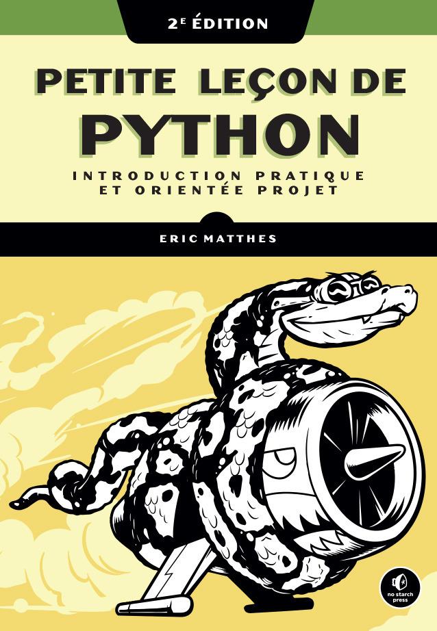 petite leçon de Python (2e édition)