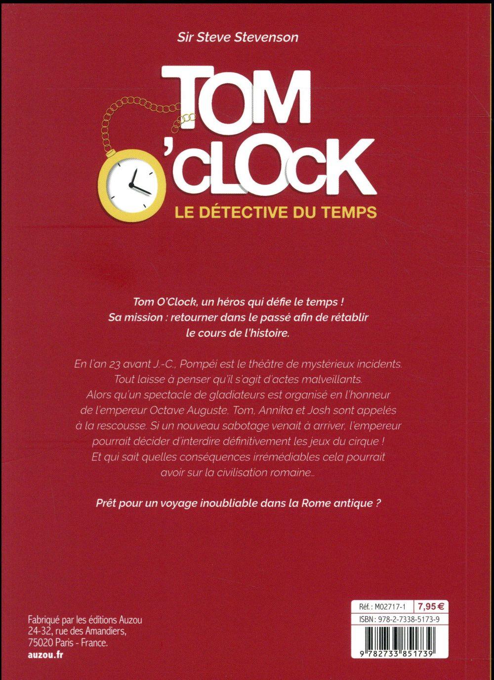 Tom O'Clock, le détective du temps t.2 ; le fantôme de Pompéi