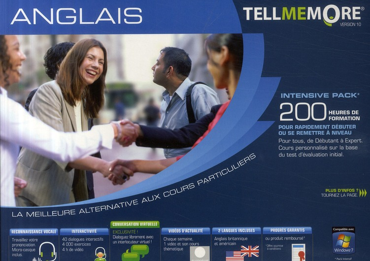 Tell Me More; Anglais ; 200 Heures De Formation