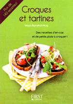 Vente EBooks : Petit livre de - Croques et tartines  - Maya BARAKAT-NUQ