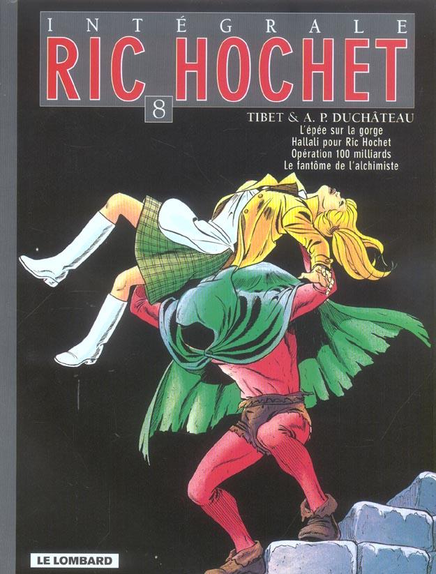 Ric Hochet ; INTEGRALE VOL.8