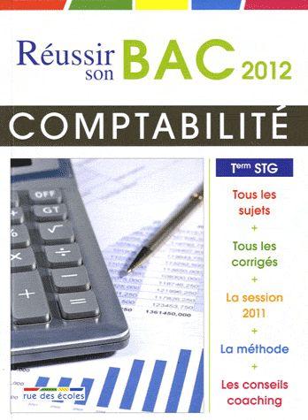 réussir son bac 2012 ; comptabilité et finance d'entreprise