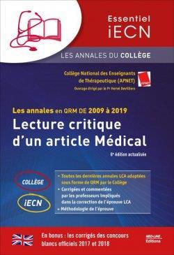 Les annales du college lca 2009-2019