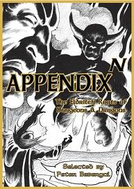 Appendix N : The Eldritch Roots Of Dungeons And Dragons /Anglais