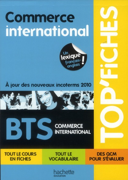 Top'Fiches; Commerce International ; Bts