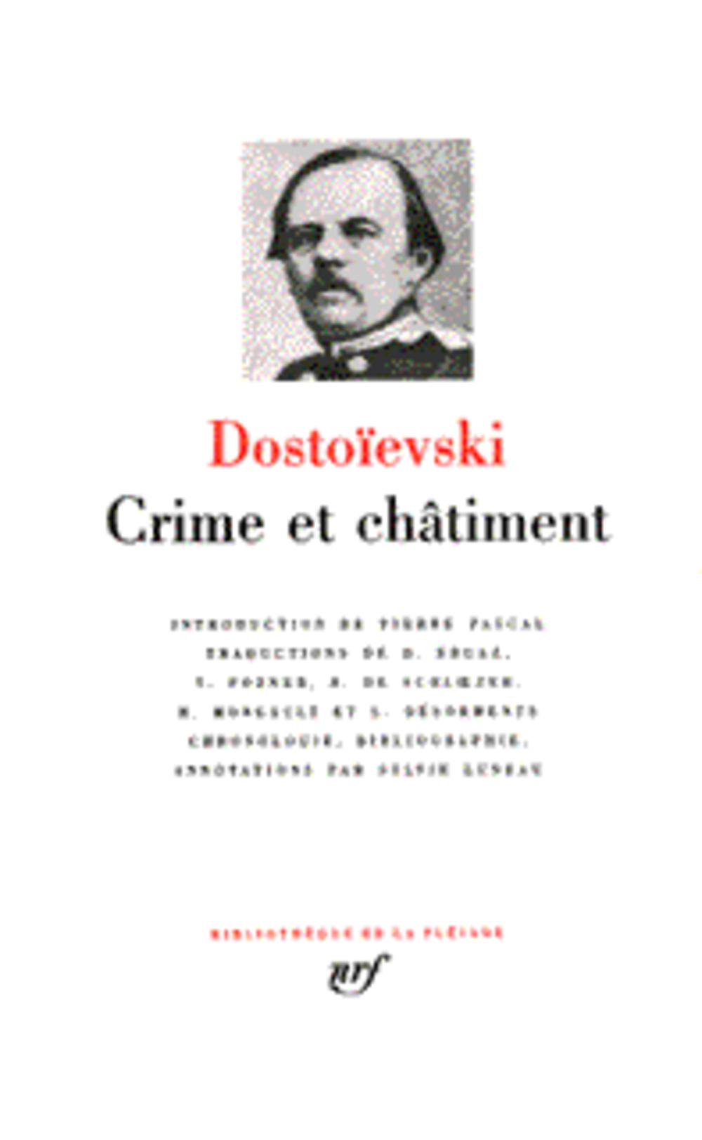 Crime Et Chatiment ; Journal De Raskolnikov ; Souvenirs