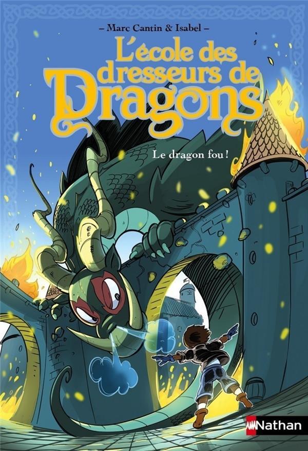 L'école des dresseurs de dragons ; le dragon fou !
