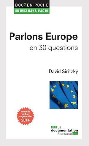 Parlons Europe en 30 questions (2e édition)