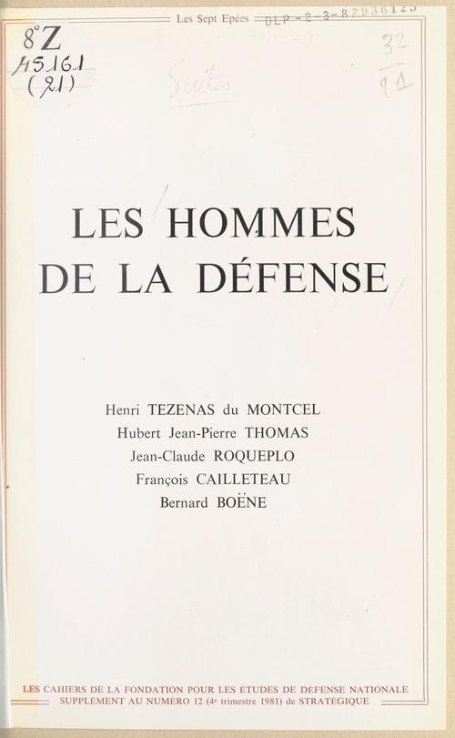 Les Hommes de la défense