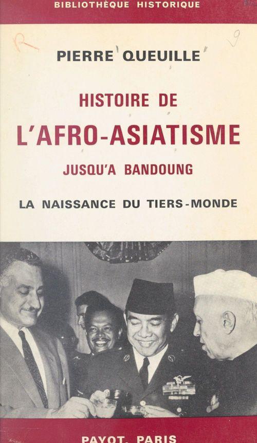 Histoire de l'afro-asiatisme jusqu'à Bandoung