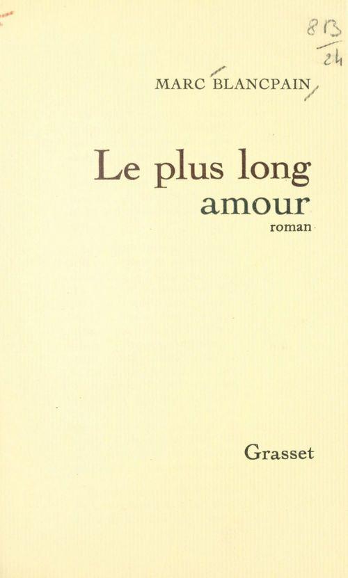 Le plus long amour
