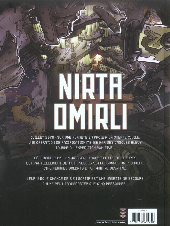 Nirta Omirli t.1 ; un jeu cruel