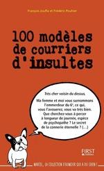 Vente EBooks : 100 modèles de courriers d'insultes  - Frédéric Pouhier - François Jouffa