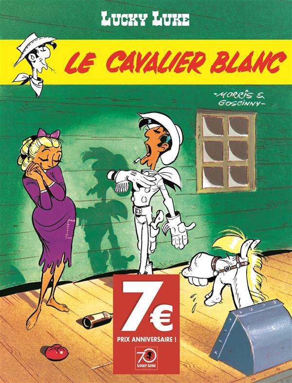 Lucky Luke T.10 ; le cavalier blanc