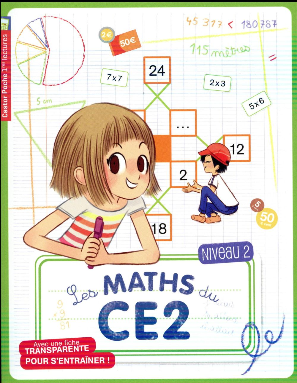 Les maths du CE2 ; niveau 2