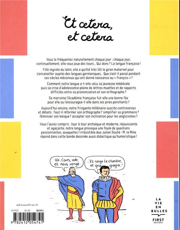 Et cetera, et cetera