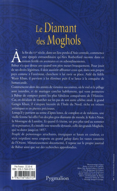 La montagne de lumière t.1 ; le diamant des Moghols