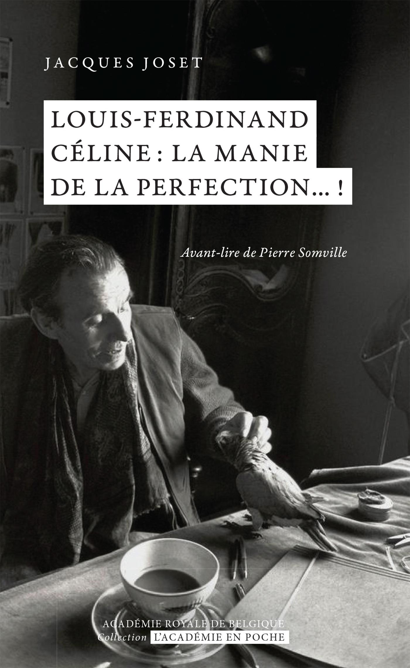 Louis-Ferdinand Céline ; la manie de la perfection !