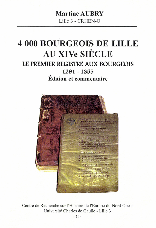 4000 bourgeois de Lille au XIVesiècle