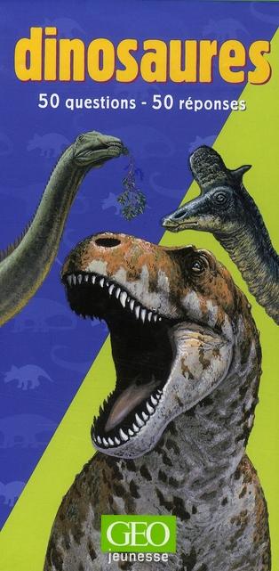 Géocarnets dinosaures