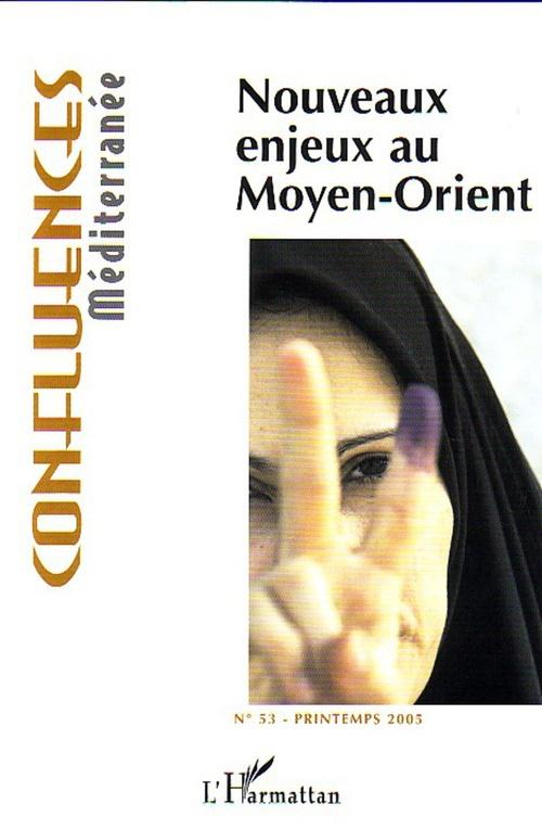 Vente EBooks : Nouveaux enjeux au Moyen-Orient  - Jean-Paul Chagnollaud