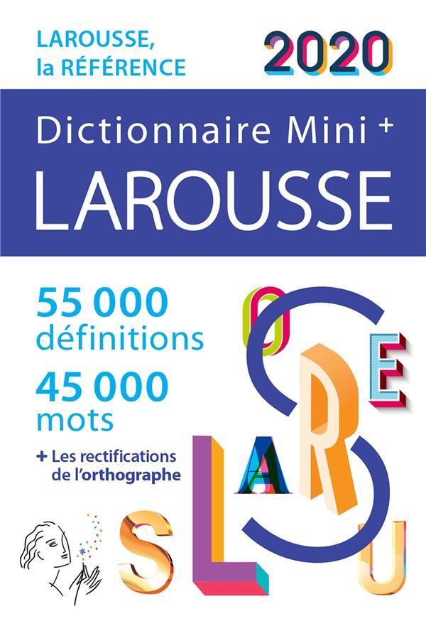 Dictionnaire Larousse mini plus 2020