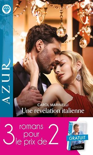 Vente EBooks : Pack 3 pour 2 Azur - Mai 2021  - Carol Marinelli  - Liz Fielding  - Carole Mortimer