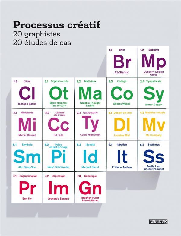 Processus Creatif ; 20 Graphistes, 20 Etudes De Cas