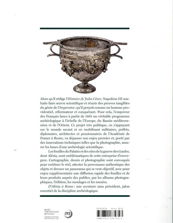D'Alésia à Rome, l'aventure archéologique de Napoléon III