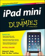 Vente Livre Numérique : IPad mini For Dummies  - Edward C. BAIG - Bob LEVITUS