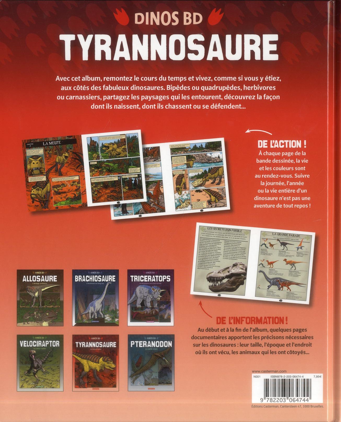 Dinos bd t.5 ; tyrannosaure