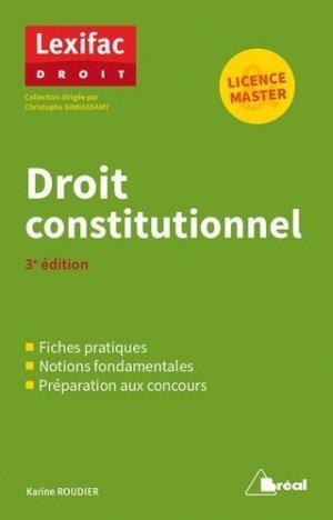droit constitutionnel (3e édition)