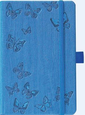 IVORY NATUREPAPILLONS BLEU 9 X 14 CM 192 PAGES PICCOLIA