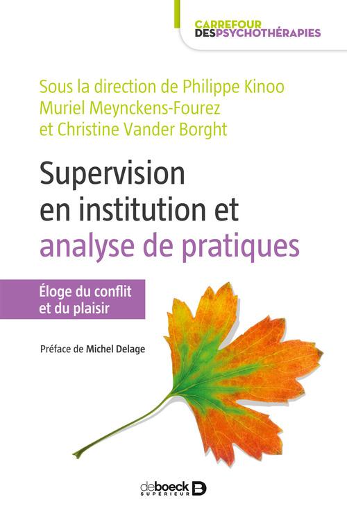 La supervision en institution : analyse des pratiques
