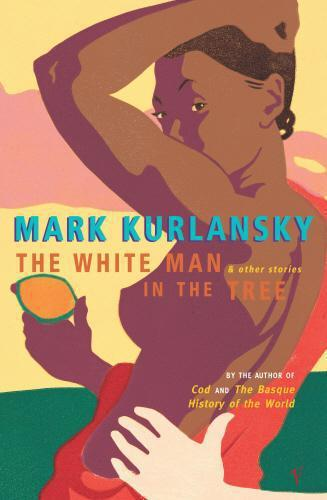 White man in the tree