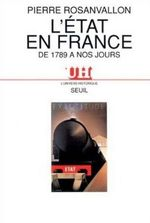 Vente Livre Numérique : L'Etat en France de 1789 à nos jours  - Pierre Rosanvallon