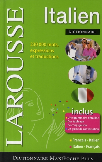 Maxipoche Plus Francais-Italien