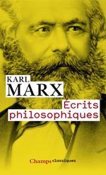 Vente Livre Numérique : Écrits philosophiques  - Karl MARX